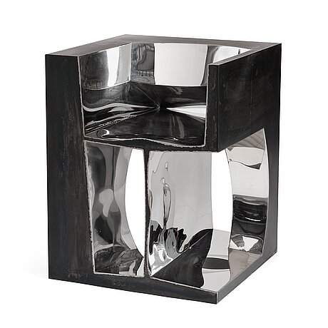 "Ron arad, a ""2 r not"" chair, 1992, no 6 in an edition of 20."