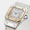 Cartier, santos, wristwatch, 24 x 23 (35) mm.