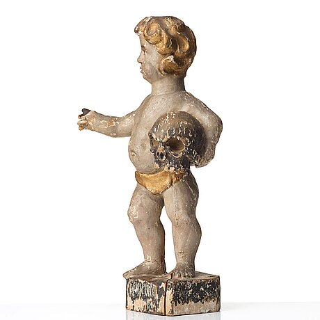 A swedish 18th century wooden sculpture.