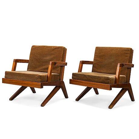 Olavi hÄnninen, a 1960s 'bumerang' armchairs for hmn huonekalu mikko nupponen, lahti, finland.