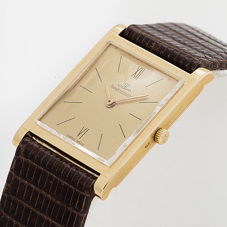 Jaeger le coultre, wristwatch, 22 x 25 (31) mm.
