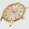 Omega, geneve, chronometer, wristwatch, 33 mm.