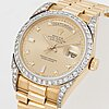 Rolex, oyster perpetual, day-date, chronometer, wristwatch, 36 mm,