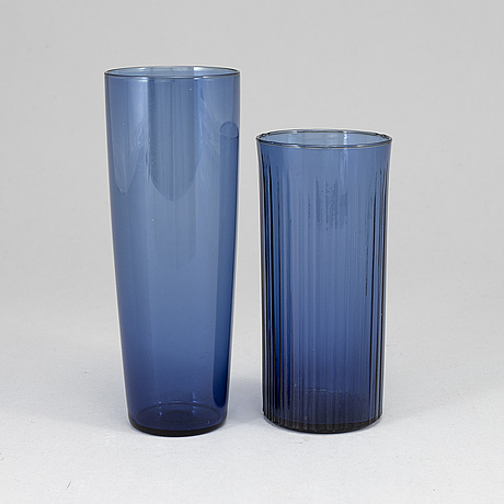 17 (16+1) tapio wirkkala glasses, incl. model 2204, in production 1956-1969.