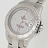 Rolex, oyster perpetual date, yacht-master, chronometer, armbandsur, 29 mm.