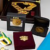 A collection of 20 football medals from fifa etc.