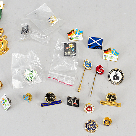 A collection of 30 pins.