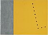 Gunnar Ånger, bemålat trä samt bemålad zinkplåt, 4, en signerad och daterad -95 a tergo.