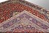 A carpet, kashan, ca 405 x 304 cm.