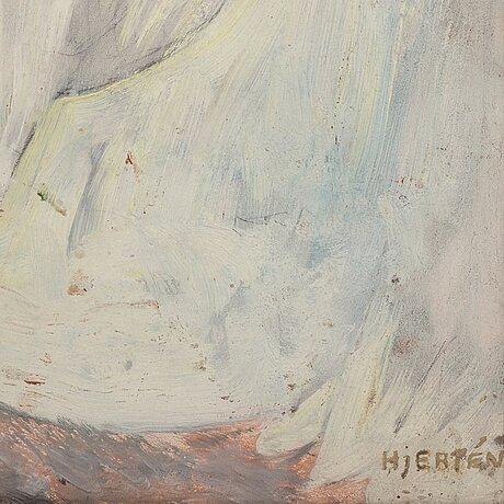 "Sigrid hjertén, ""kalkstensklippan, st aubin""."