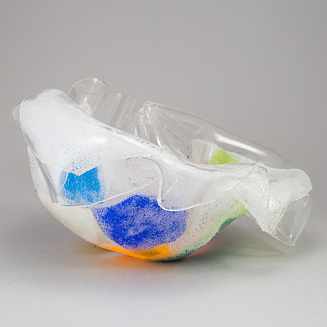 Jan naliwajko, an acrylic sculpture, signed and dated 2004.