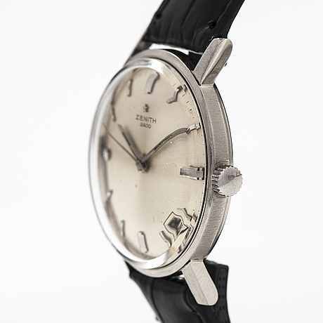 Zenith 2400, armbandsur, 34 mm.