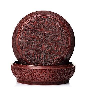 712. ASK med LOCK. Qingdynastin (1664-1912).