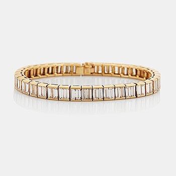 "912. A Van Cleef et Arpels bracelet ""Bracelet Baguette""."