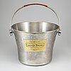 A laurent-perrier steel wine cooler, 20th century.