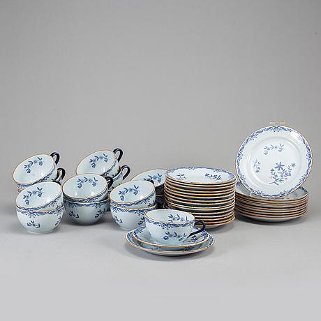 25 pieces of eastindia tea service, rörstrand.