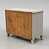 A chest of drawers from the second half of the 1800's.