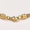 "An 18k gold bracelet ""moose head"", kalevala koru 1999."