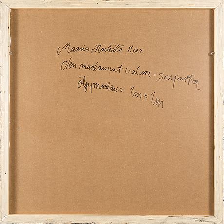 """Maaria mÄrkÄlÄ, fromtheseries""""ihavepaintedlight""""."""