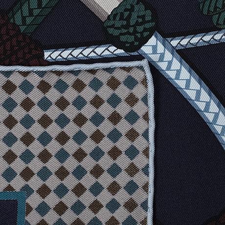 HermÈs, scarf, 'fouets et badines'.