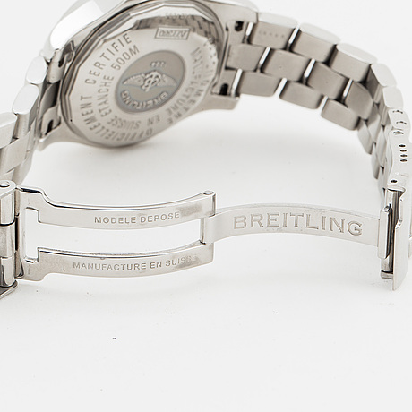 Breitling, colt oceane, wristwatch, 33.2 mm.