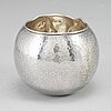 A sterling silver tumbler by olle ohlsson, stockholm.