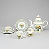 "A villeroy & boch ""basket"" part coffee and tea service (36 pieces)."
