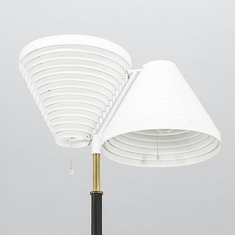 Alvar aalto, a late 20th century 'a 810' floor lamp for valaisinpaja.