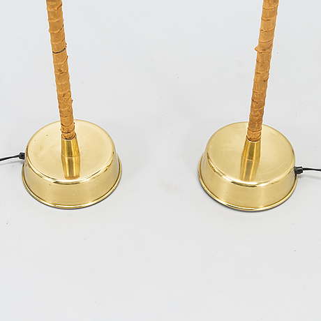 Lisa johansson-pape, a pair of 1960's floor lamps for stockmann orno.
