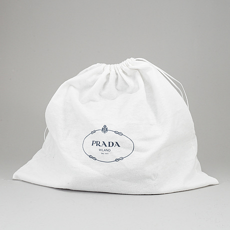Prada, backpack.