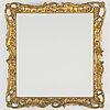 Frame / mirror, louis xv-style, ca 1900.