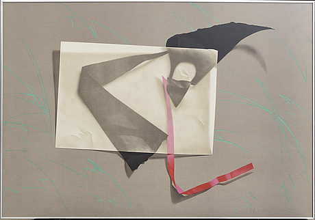 YrjÖ edelmann, serigraphy, signed and numbered 69/150.