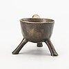 Apoteksgryta 17/1800-tal brons.
