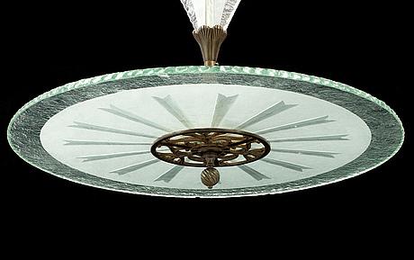 A 1930s ceiling light.