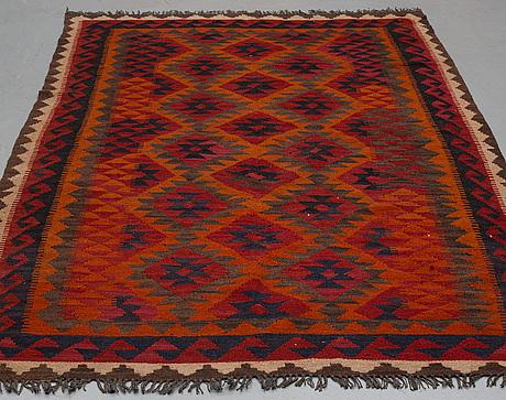 A rug kilim, ca 243 x 153 cm.