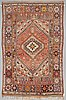 A carpet, an old moroccan, ca 295 x 192,5-201 cm (as well as ca 5-5,5 cm flat weave at the ends).