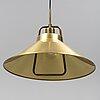 "Fritz schlegel, taklampa, ""p 295"", lyfa, danmark, 1900-talets andra hälft."