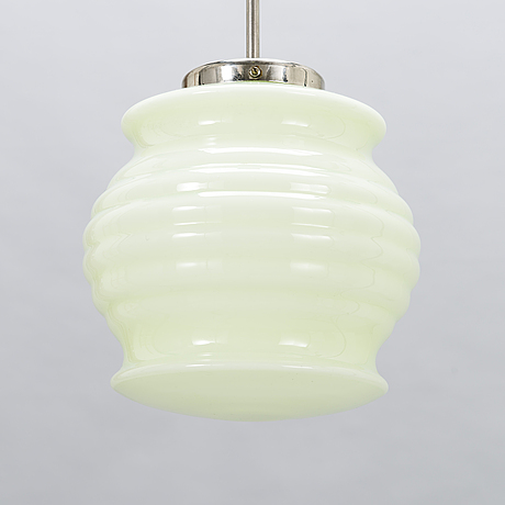 Paavo tynell, a 1930's '556' pendant light for taito finland.