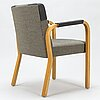 Alvar aalto. a late 20th century model 46 armchair. made to order.