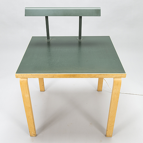 Alvar aalto, a 1960's library table / reading table for  o.y. huonekalu-ja rakennustyötehdas a.b.
