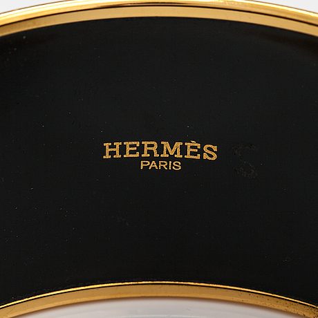 "Hermes, rannekoru, ""optique chaine d'ancre"". merkitty ""hermes paris"", ""made in france +p""."