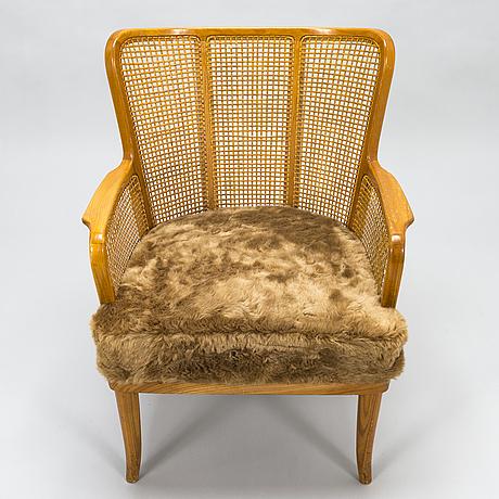 Carl-johan boman, a 1940s armchair for oy boman ab, finland.