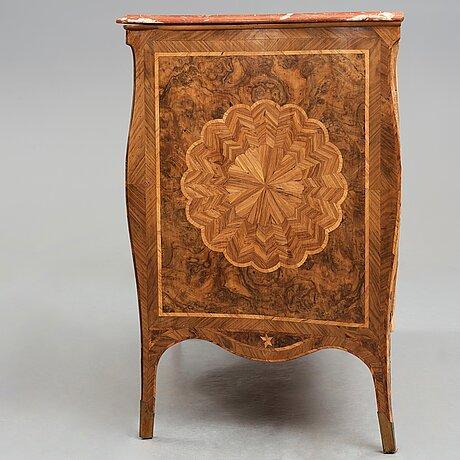 ByrÅ, 1700-talets mitt italien troligen neapel, rokoko.