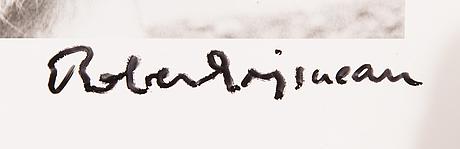 Robert doisneau, gelatinsilverfotografi, signerad. numrerad a tergo.