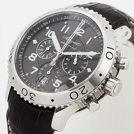 Breguet, type xxi, wristwatch, chronograph, 42 mm.
