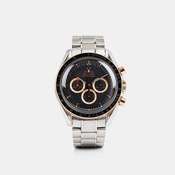 "2013. Omega, Speedmaster, chronograph, ""35th Anniversary of Apollo XV""."