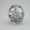 """Edward hald, a """"graal"""" glass vase, orrefors 1945."""