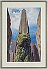 Jeff koons, exhibition poster, 2000, dated and signed by the artist.