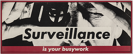 Barbara kruger, screenprint, 1983, from the open unsigned multiple.