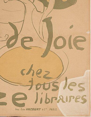 """Henri de toulouse-lautrec, """"reine de joie""""."""